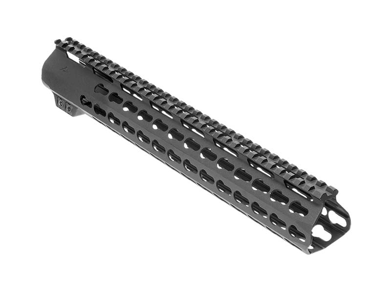 AIM Sports AR-308/AR-10 15″ Low Keymod Handguard – Black