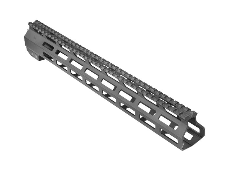 "AIM Sports AR-308/AR-10 13.5"" High MLOK Handguard - Black"