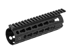 Leapers UTG Pro AR-15 Super Slim Keymod Drop-In Carbine Handguard in Black