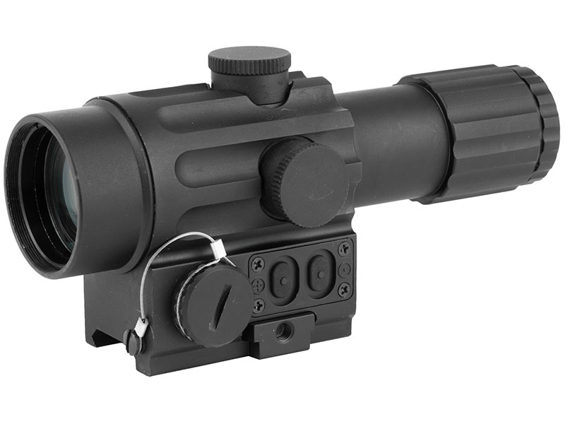 VISM by NcSTAR Duo Scope 4x34mm Blue Dot and 30 Degree Offset Green Dot