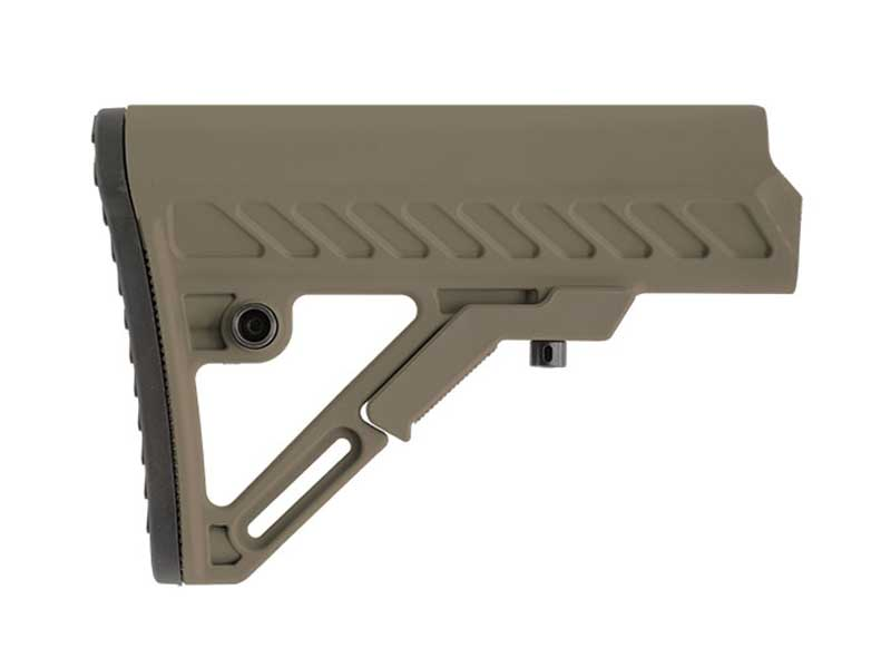 Leapers UTG Pro AR-15 Ops Ready S2 Stock in Flat Dark Earth FDE (Stock Only)