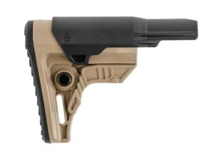 Leapers UTG Pro AR-15 Ops Ready S4 Stock in Flat Dark Earth FDE