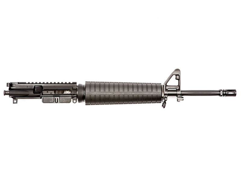 "Spike's Tactical 16"" 5.56 NATO Cold Hammer Forged Mid-Length Upper With A2 Handguard in Black"