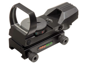 TRUGLO Four-Reticle/Dual Color Open Red Dot