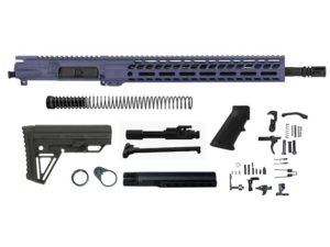 "ghost firearms grid defense 16"" 5.56 purple rifle kit"