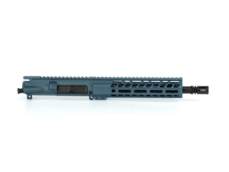 Ghost Firearms Elite 10.5″ 5.56 NATO Pistol Upper (No BCG, No Charging Handle) – Blue Titanium