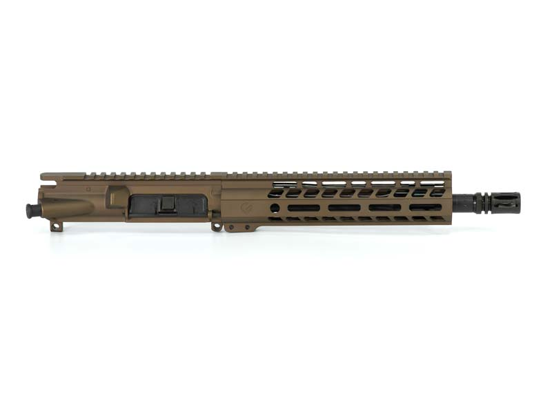 Ghost Firearms Elite 10.5″ 5.56 NATO Pistol Upper (No BCG, No Charging Handle) – Burnt Bronze