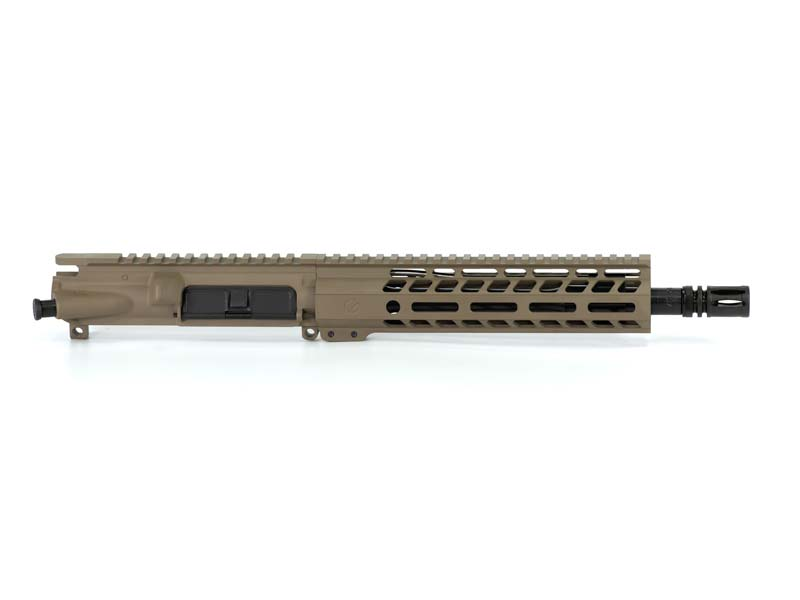 Ghost Firearms Elite 10.5″ 5.56 NATO Pistol Upper (No BCG, No Charging Handle) – Flat Dark Earth FDE