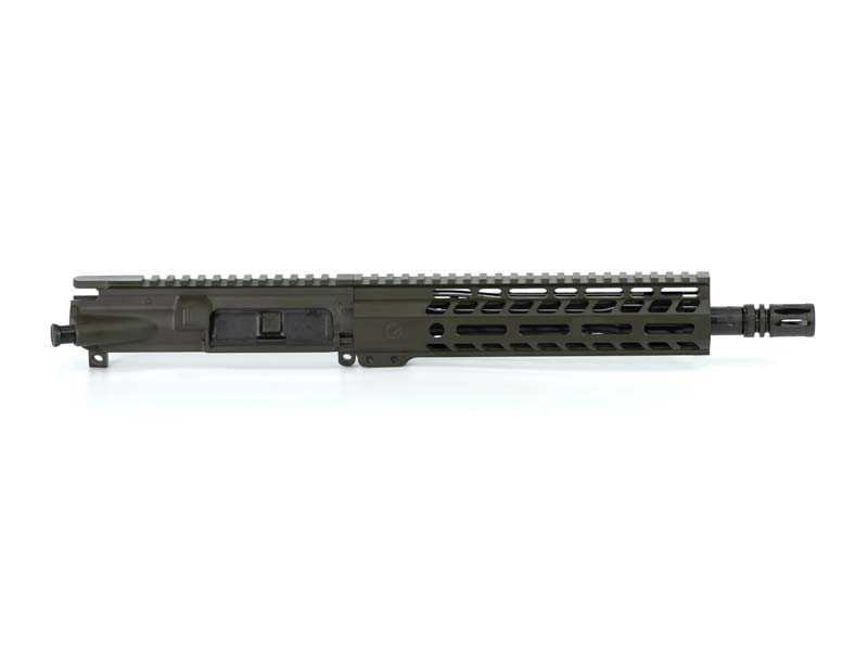 Ghost Firearms Elite 10.5″ 5.56 NATO Pistol Upper (No BCG, No Charging Handle) – Olive Drab OD Green