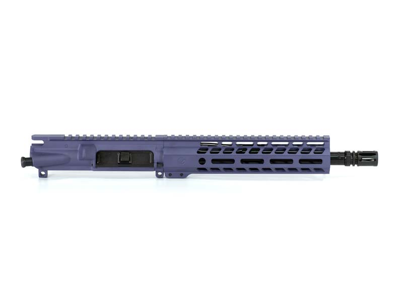 Ghost Firearms Elite 10.5″ 5.56 NATO Pistol Upper (No BCG, No Charging Handle) – Tactical Grape