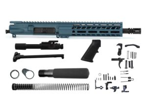 Ghost Firearms Elite 10.5″ 5.56 NATO Pistol Kit – Blue Titanium