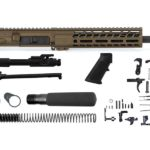 Ghost Firearms Elite 10.5″ 5.56 NATO Pistol Kit – Burnt Bronze