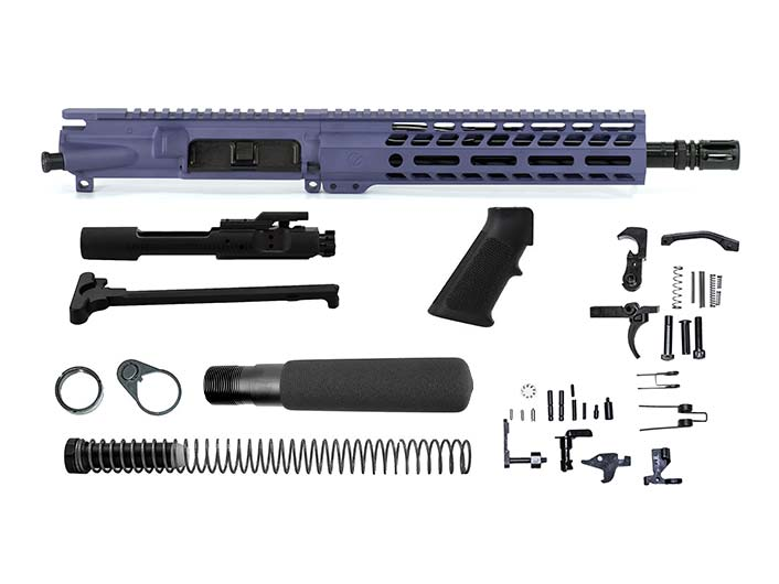 Ghost Firearms Elite 10.5″ 5.56 NATO Pistol Kit – Tactical Grape