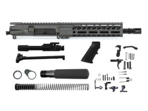 Ghost Firearms Elite 10.5″ 5.56 NATO Pistol Kit – Tungsten Grey