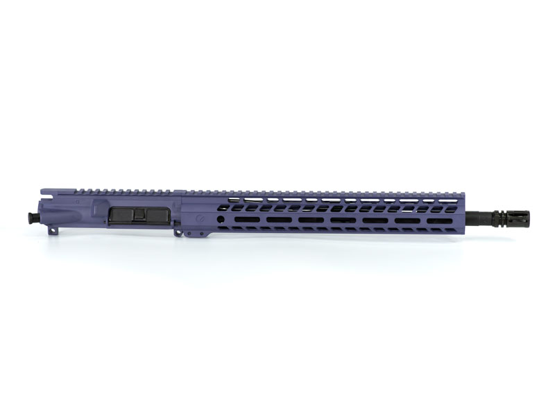Ghost Firearms Elite 16″ 5.56 NATO Rifle Upper (No BCG, No Charging Handle) - Tactical Grape