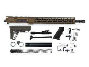 Ghost Firearms Elite 16″ 5.56 NATO Rifle Kit – Burnt Bronze