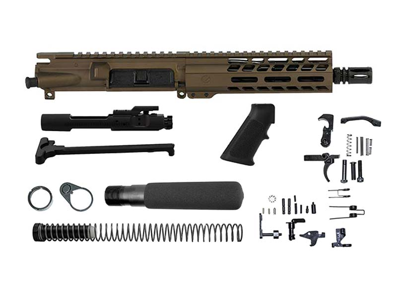 Ghost Firearms Elite 7.5″ 300 Blackout Pistol Kit – Burnt Bronze