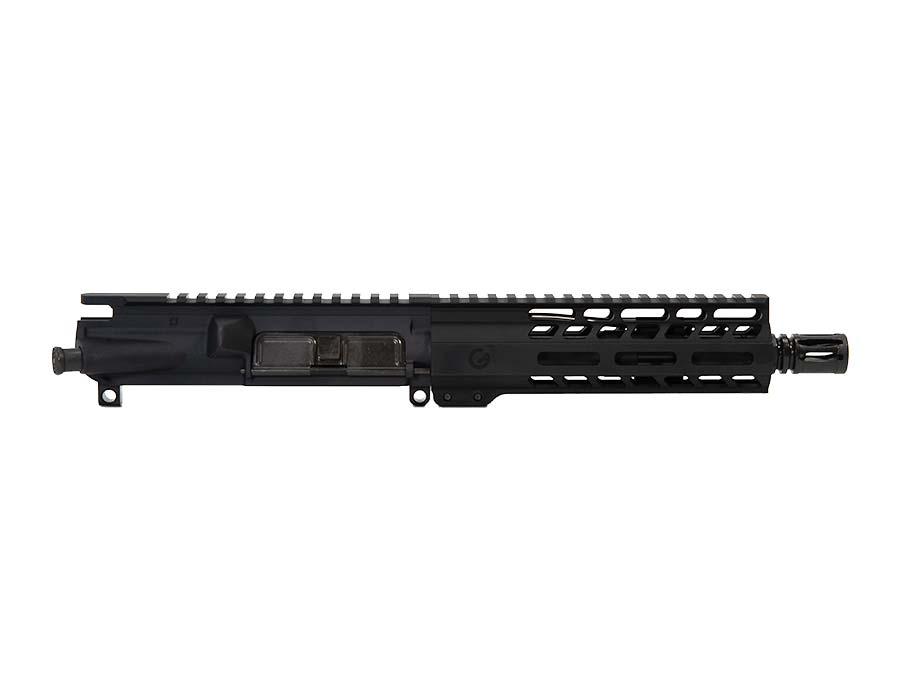 "Ghost Firearms Vital 7.5"" 300 Blackout Pistol Upper (No BCG, No Charging Handle) - Black"