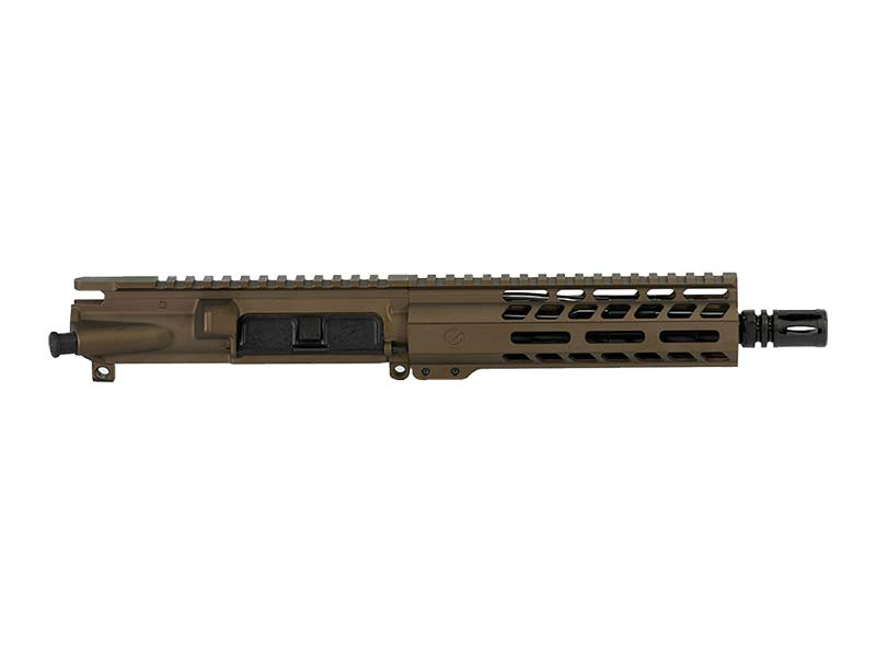 Ghost Firearms Elite 7.5″ 5.56 NATO Pistol Upper (No BCG, No Charging Handle) – Burnt Bronze