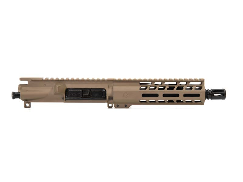 Ghost Firearms Elite 7.5″ 5.56 NATO Pistol Upper (No BCG, No Charging Handle) – Flat Dark Earth FDE
