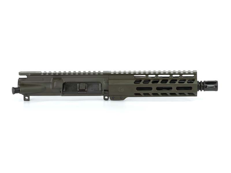 Ghost Firearms Elite 7.5″ 5.56 NATO Pistol Upper (No BCG, No Charging Handle) – Olive Drab OD Green
