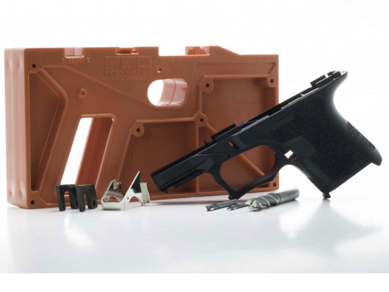 Polymer80 PF940SC SubCompact 80% Kit for Glock 26/27 - Black