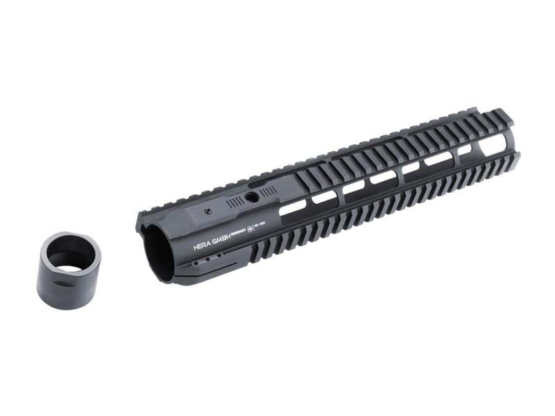 "12"" Hera Arms AR-10 IRS Quadrail Handguard in Black"