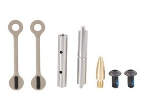KNS Precision AR-15 Non-Rotation Trigger/Hammer Pins Gen 2 Mod 2 .154 in Flat Dark Earth FDE