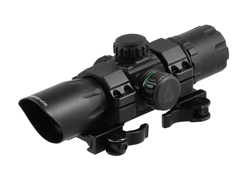 "Leapers UTG 6.4"" ITA Green/Red Dot CQB T-Dot Sight"