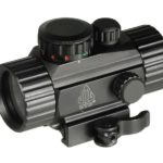 "Leapers UTG 3.8"" ITA Green/Red Single Dot Sight with QD Mount"