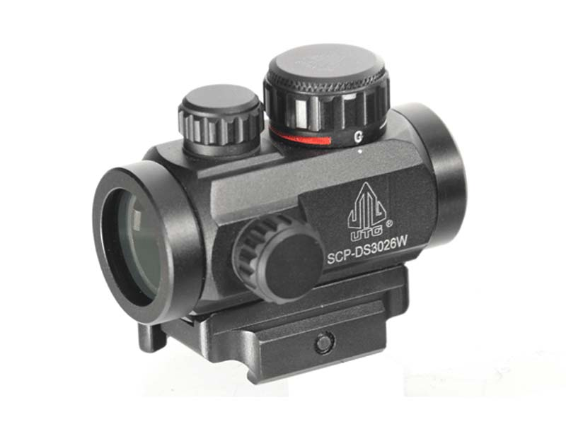 "Leapers UTG 2.6"" ITA Green/Red Dot CBQ Micro Dot"