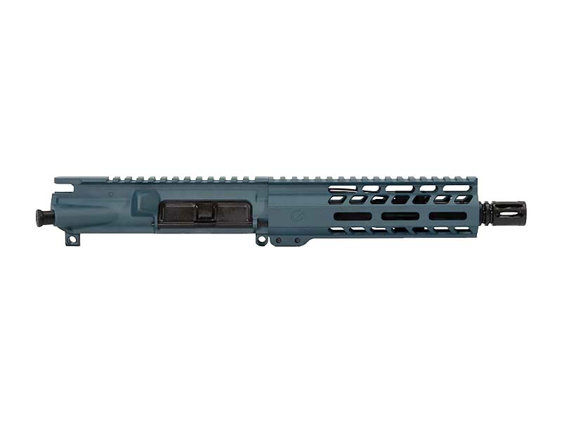 Ghost Firearms Elite 7.5″ 300 Blackout Pistol Upper in Blue Titanium