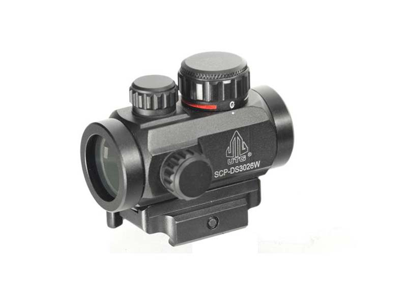 "Leapers UTG 3"" ITA Green/Red Dot CBQ Micro Dot"