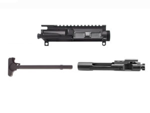 aero upper charging handle and bolt carrier group