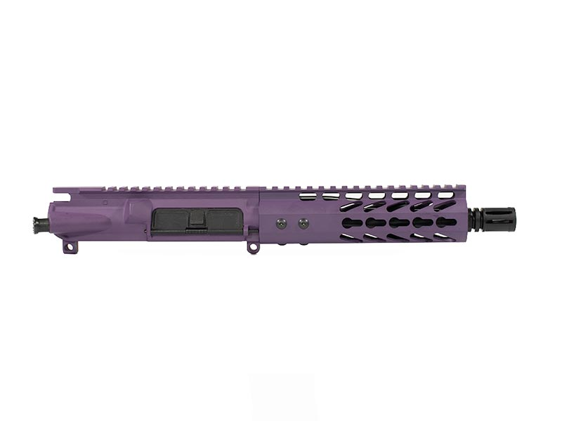 "purple 7.5"" pistol upper"