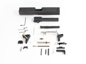 glock compatable complete parts kit with 80 lower and jig