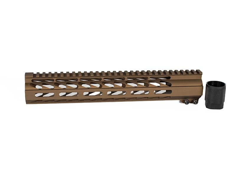 burnt bronze cerakote m lok rail
