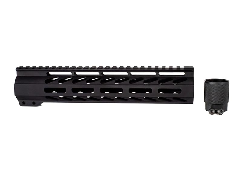 10 inch black m lok handguard for ar-15