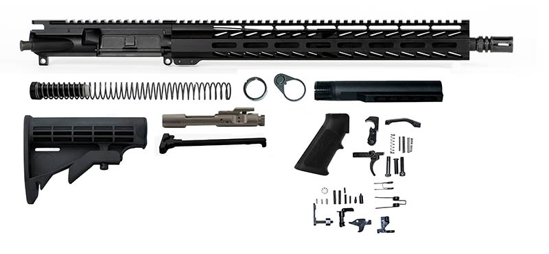 "AR Kit with Nickel Boron Bolt Carrier group and 15"" M-Lok"