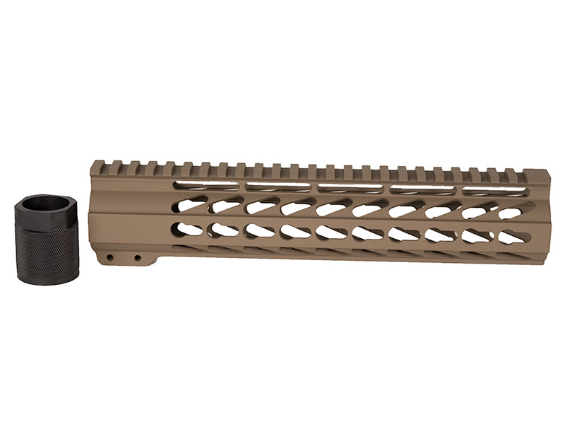 Flat Dark Earth Keymod Handguard Rail 10""