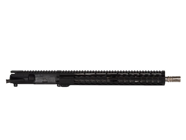 16 Stainless Steel Barrel 1×9 with 15″ Black Keymod Upper