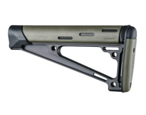 Hogue Olive Drab Green AR-15 / M16: OverMolded Fixed Buttstock