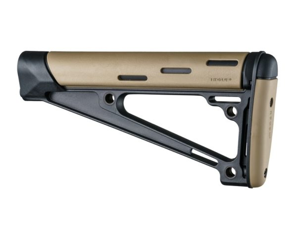 AR-15 / M16: OverMolded Fixed Buttstock (Fits A2 Buffer Tube) – Flat Dark Earth