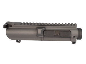 308 Assembled Upper Receiver Cerakoted in Tungsten Grey