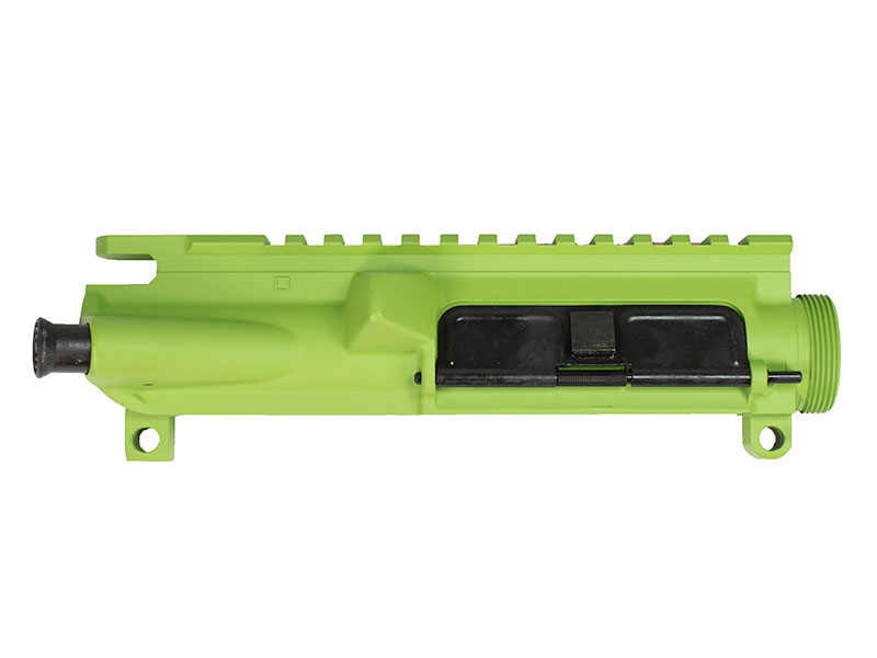 Zombie Green Cerakote AR-15 Upper Receiver Assembled