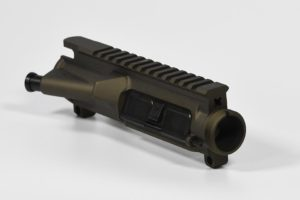 AR-15 Assembled Upper Receiver Cerakoted Burnt Bronze