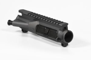 Cerakoted Tungsten Grey AR-15 Assembled Upper Receiver