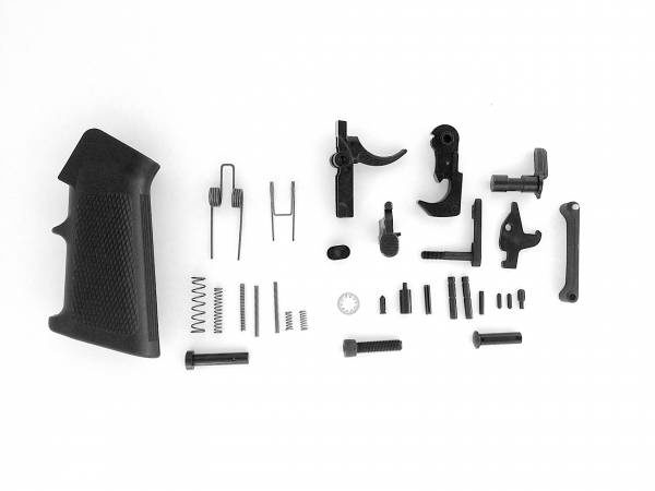 LBE Unlimited AR-15 Lower Parts Kit Complete with Pistol Grip and Trigger Guard