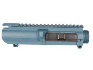 Cerakote 308 Assembled upper in Blue titanium