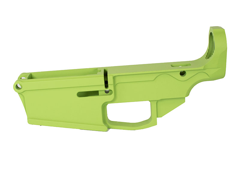 308 Zombie Green Cerakoted lower